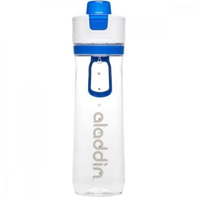 Steklenička Aladdin Active Hydration Tracker 800ml MODRA
